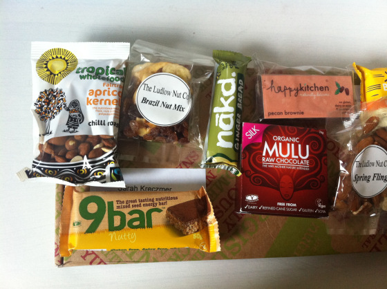 The Nutribox, Mini, gluten free, Nibbles